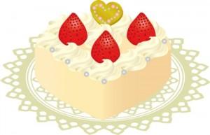 イチゴケーキ1